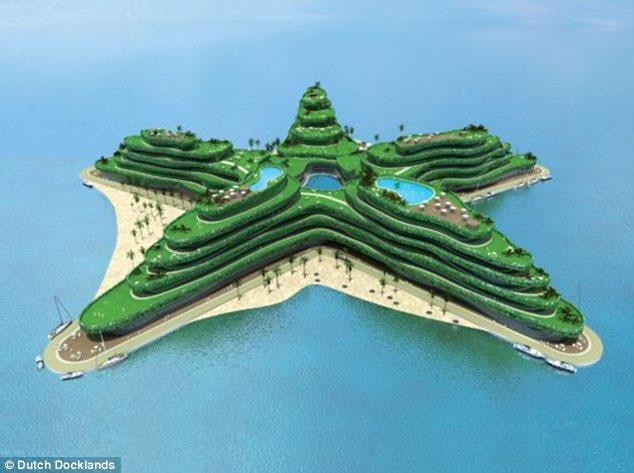 Maldives sắp xây hàng loạt đảo nổi nhân tạo