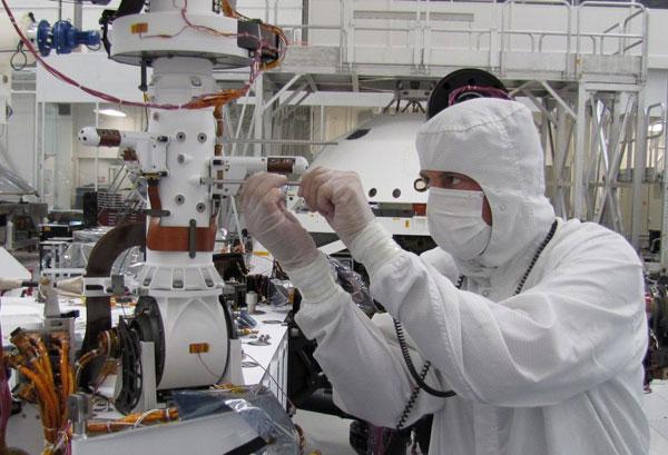 Robot thám hiểm sao Hỏa hỏng một bộ cảm biến