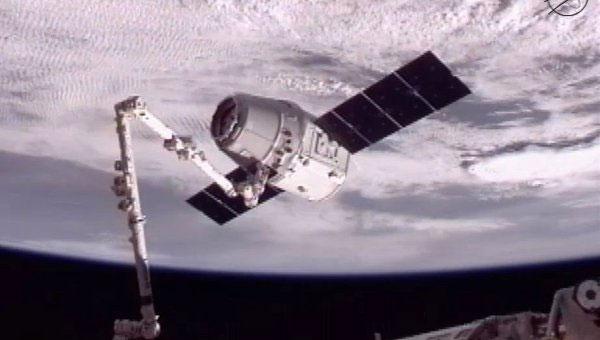 Tàu vũ trụ vận tải Dragon trong lần bay đến ISS hồi cuối tháng 5 qua