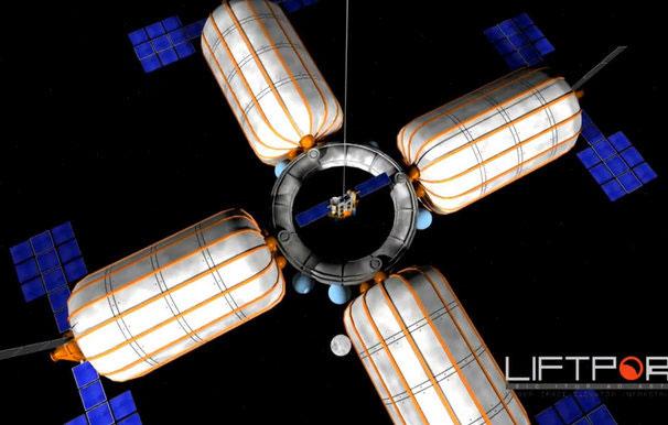 Khởi động dự án xây thang máy lên mặt trăng