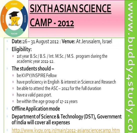 Khai mạc trại hè khoa học Châu Á 2012
