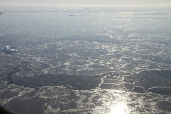 Diện tích biển băng Bắc Cực đang ở mức thấp kỷ lục