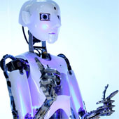 Robot làm nghệ sĩ biểu diễn