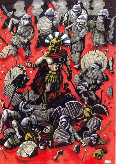 """Những quân đoàn """"quỷ dữ"""" bất tử trong lịch sử"""