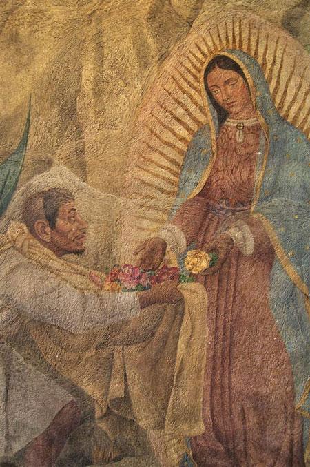Bức vẽ Đức Mẹ Mary
