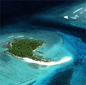"""Ngắm hòn đảo """"thiên đường"""" sắp bị biến mất"""