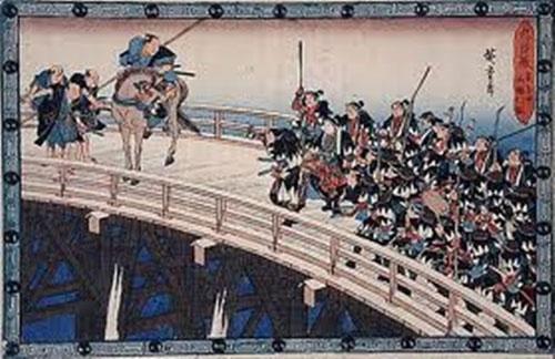 Các Samurai trả thù cho các chết của chủ nhân mình