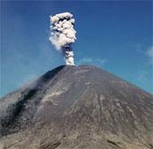 Núi lửa ở Viễn Đông Nga phun tro bụi cao 6,5km