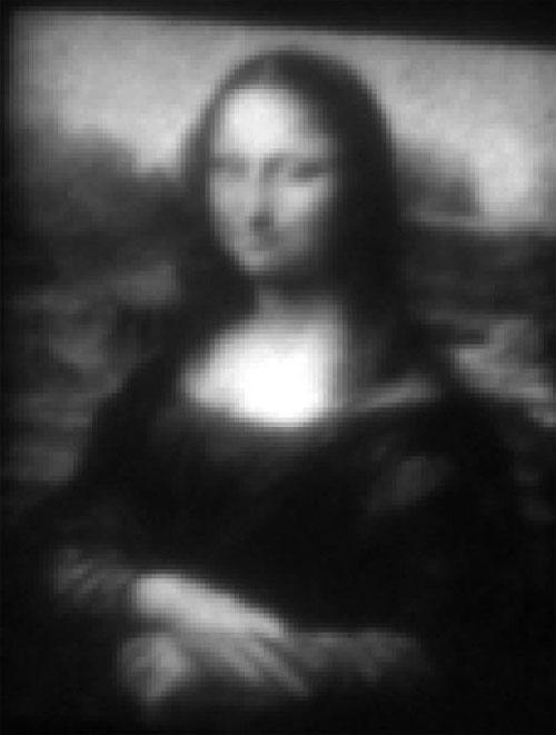 Bức tranh nàng Mona Lisa siêu nhỏ