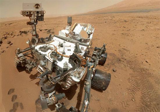 Một năm trên sao Hỏa của cỗ máy trong mơ