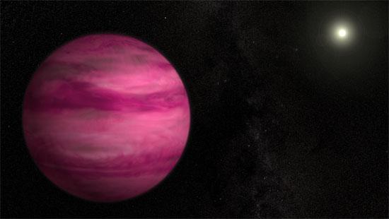 Lần đầu tiên phát hiện hành tinh màu hồng