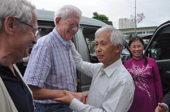 Đón tiếp 4 nhà khoa học đoạt giải Nobel