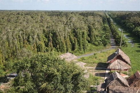 VQG U Minh Thượng trở thành Vườn di sản ASEAN
