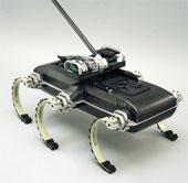 Video: Robot di chuyển trên 6 chân