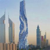 Tòa nhà xoay 360 độ