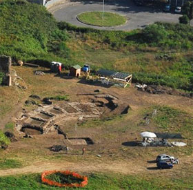 Phát hiện đấu trường Colosseum thu nhỏ của hoàng đế La Mã