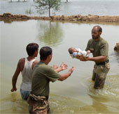 96 người thiệt mạng do mưa lũ kéo dài tại Pakistan
