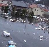Video mới về sóng thần Nhật Bản
