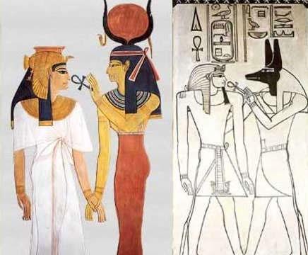 Ankh là cảm hứng để tạo nên biểu tượng tượng trưng của vị thần Vệ Nữ của Hy Lạp