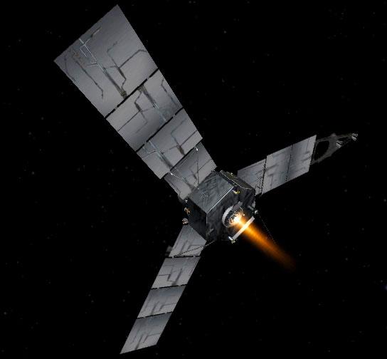 Phi thuyền Juno hoàn tất nửa chặng đường đến sao Mộc