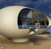 Những căn nhà sinh thái hình quả trứng cực độc