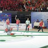 Việt Nam đoạt huy chương bạc Robocon 2013