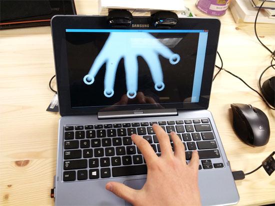 Công nghệ Haptix tương tác 3 chiều