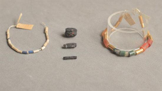 Người cổ đại Ai Cập làm trang sức từ thiên thạch