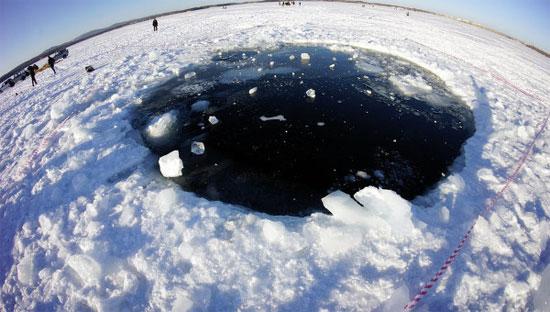 Tìm thấy mảnh lớn nhất của thiên thạch rơi tại Nga