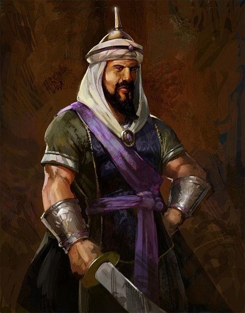 Nhờ sở hữu con lạc đà khỏe nhất, Saladin đã chạy thoát khỏi trận địa