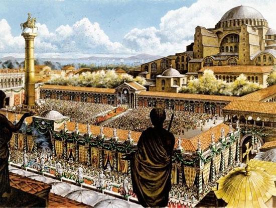 Hình ảnh đế quốc Byzantine