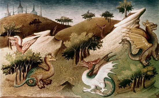 Trí tưởng tượng hay loài vật có thật?