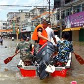 Trung Quốc: Lũ lụt tồi tệ khiến hơn 80 người thiệt mạng