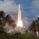 Pháp phóng vệ tinh viễn thông cho Ấn Độ và Qatar