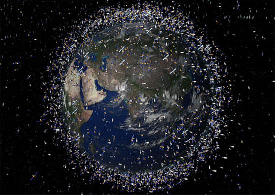Rác vũ trụ gây nguy hiểm cho các vệ tinh và tàu không gian đang hoạt động
