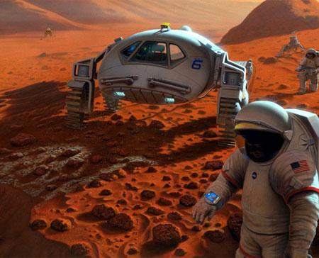 Lò phản ứng hạt nhân có thể lên sao Hỏa