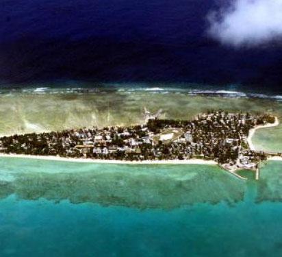Biến đổi khí hậu nhấn chìm quốc đảo Thái Bình Dương