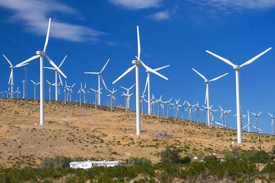 Điện từ gió đã rẻ hơn điện từ khí