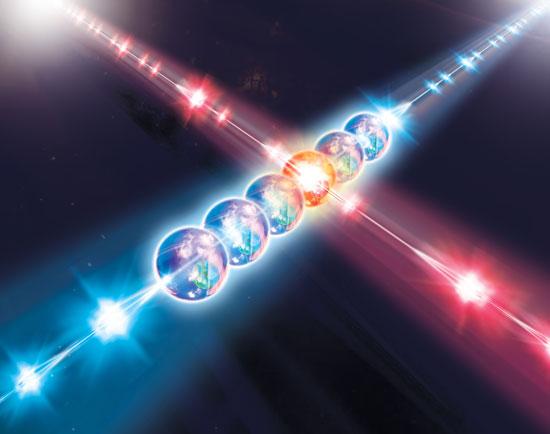 Giả lập các hiện tượng vật lý phức tạp trong vật lý lượng tử