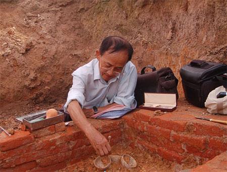 Lại phát hiện mộ cổ tại Ciputra