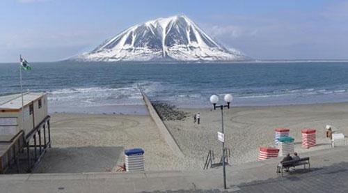 Hà Lan dựng núi giả cải tạo địa hình