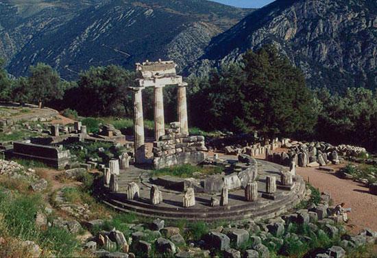 Khu đền Delphi, Hy Lạp