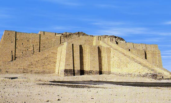 Khu đền Ziggurat ở thành phố Ur, Iraq