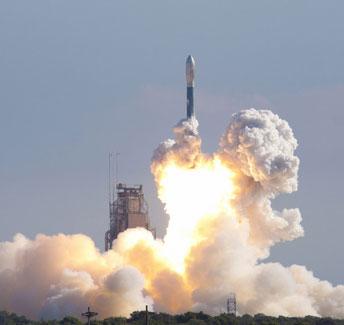 NASA phóng tàu vũ trụ lên Mặt Trăng