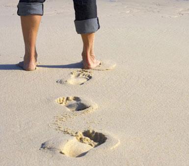 Nhận dạng con người bằng dấu chân