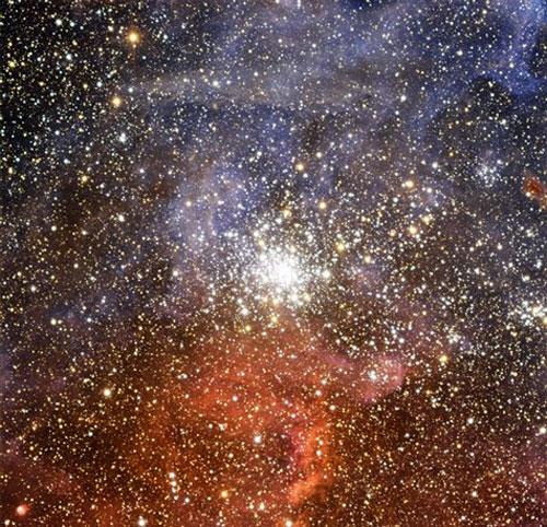 Cụm sao đầy màu sắc