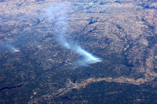 Cháy rừng ở Texas