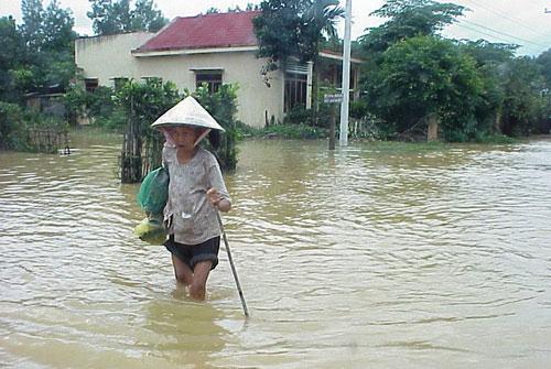 Lâm Đồng: lũ lụt làm 2 người chết
