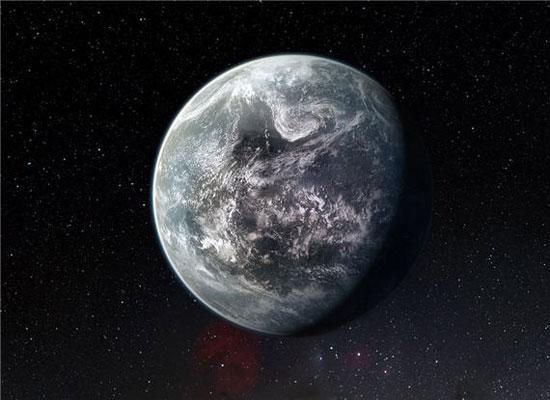 Hình ảnh mô phỏng hành tinh HD 85512b