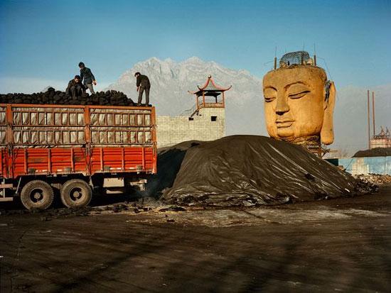 Đức phật trong Coal Yard, China